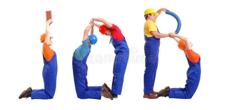 Jobgruppe stockfoto
