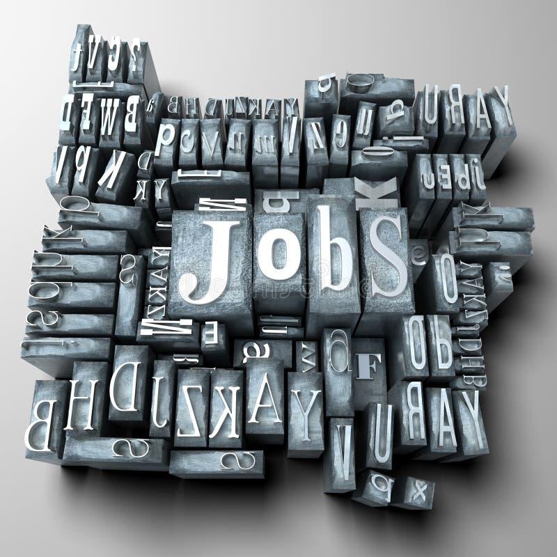 Download Jobs stockfoto. Bild von grau, schriftkegel, karriere - 12200798