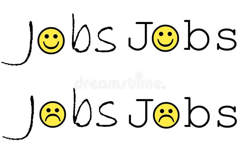 Jobs stockfotos