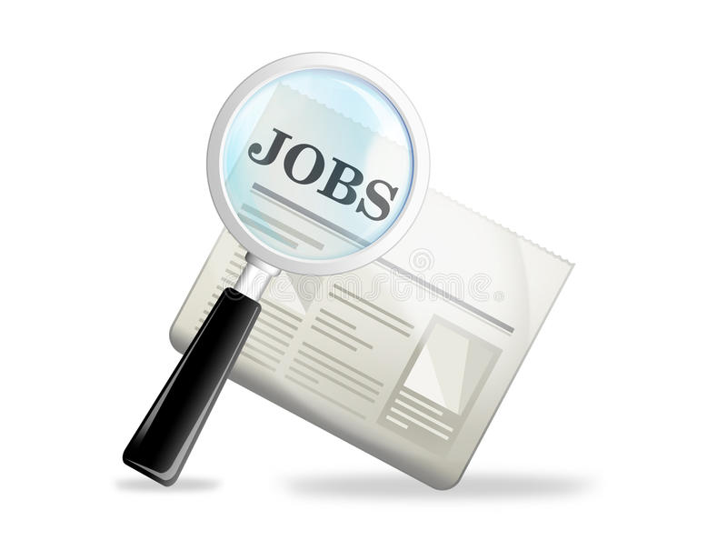 Jobs stock illustration