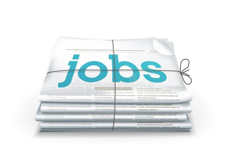 Jobs lizenzfreie abbildung