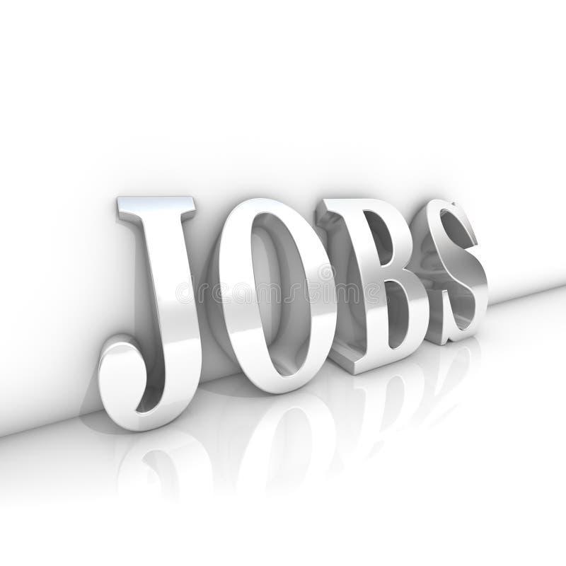 Jobs royalty free illustration