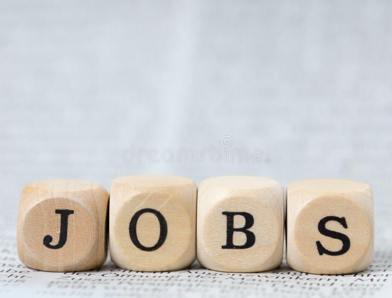 jobs stockbild