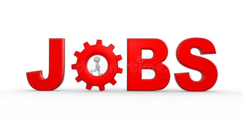 Download Jobs illustration stock. Illustration du portez, affaires - 56482444