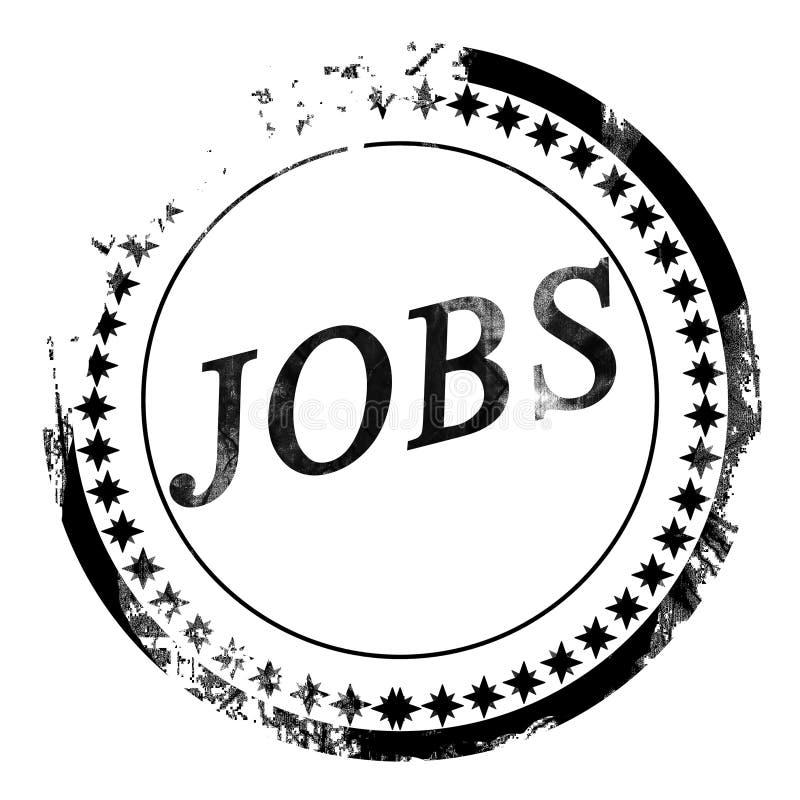 Jobs stock illustration