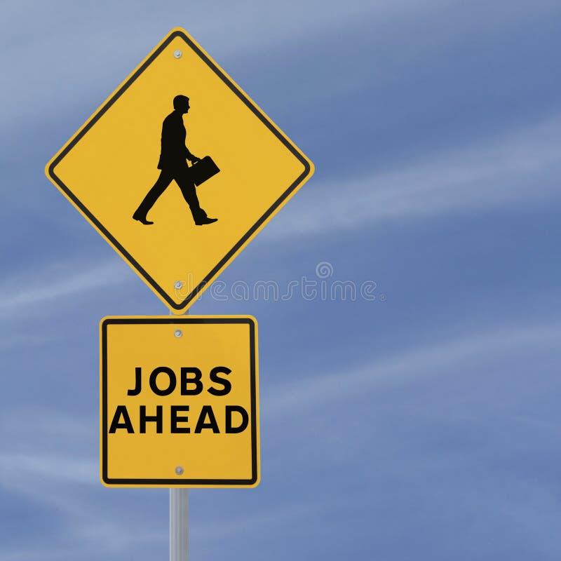 Jobs Ahead royalty free stock photo