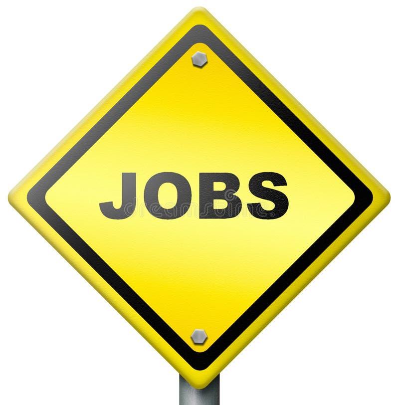 Jobs ahead vector illustration