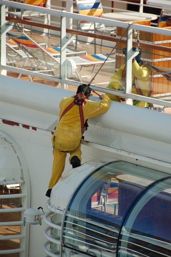 Jobs boten durch das Kreuzschiff und die Marineindustrien an lizenzfreies stockfoto