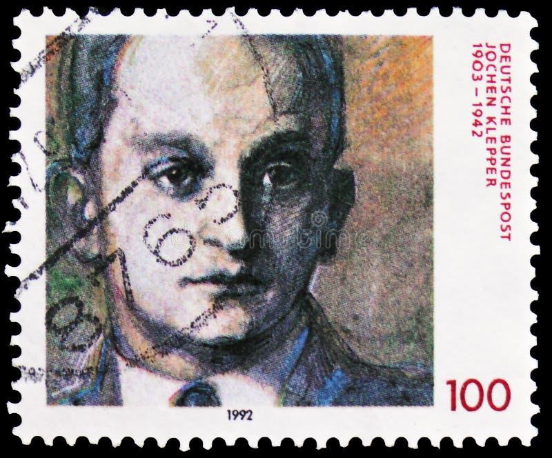 Jochen Klepper, writer, 1903-1942, serie, circa 1992 stock photos