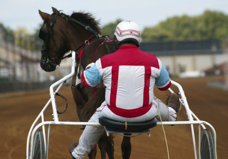 Jockey En Paard Royalty-vrije Stock Foto's