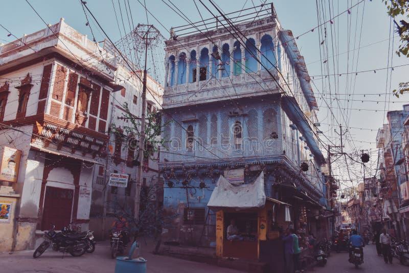 Jodhpur błękitny miasto w Rajasthan, India obraz royalty free