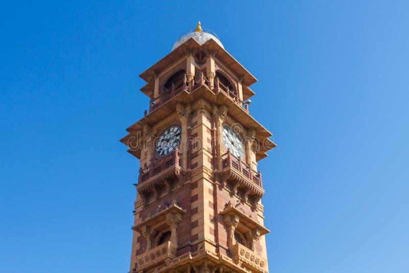 Jodhpur Clocktower lizenzfreie stockbilder