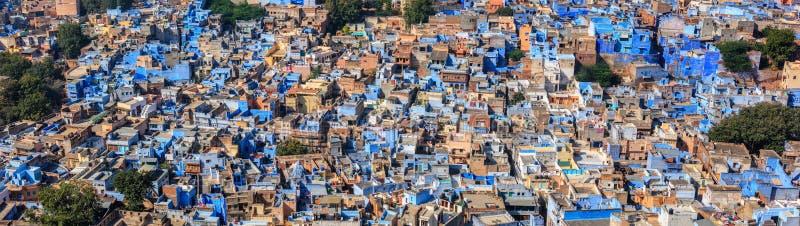 Jodhpur den blåa staden, Rajasthan, Indien arkivbild