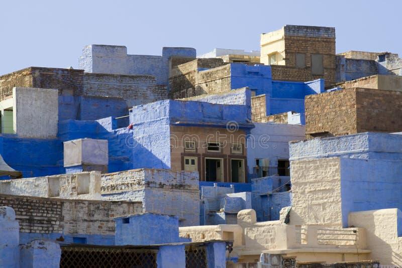 Jodhpur-Häuser stockfoto