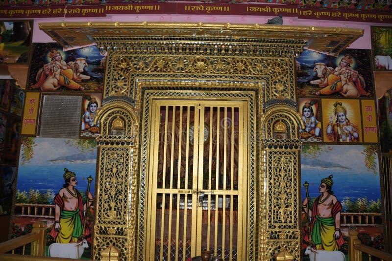 Jodhpur Radha Krishna Temple in Rajasthan stock images