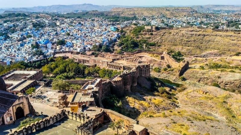 Jodhpur-Stadt stockbild