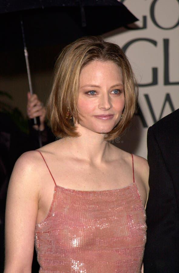 Jodie Foster foto de archivo libre de regalías