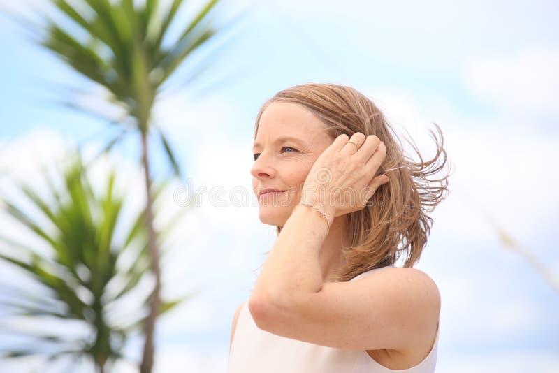 Jodie Foster imagen de archivo libre de regalías