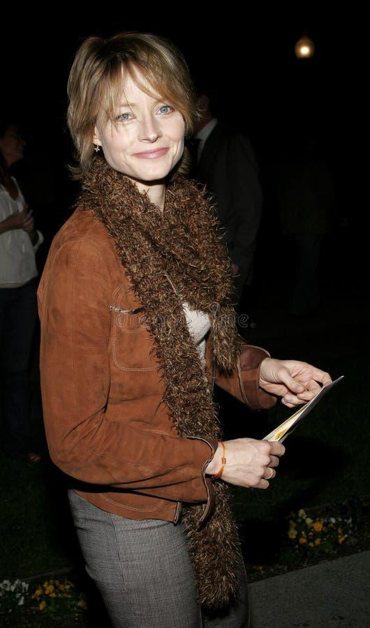 Jodie Foster fotografia stock libera da diritti