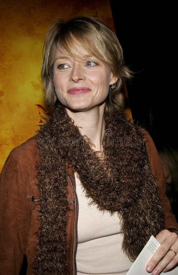 Jodie Foster fotografie stock libere da diritti