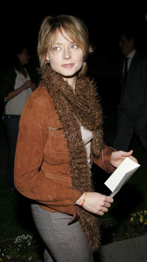 Jodie Foster immagini stock