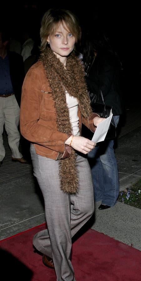 Jodie Foster immagine stock libera da diritti