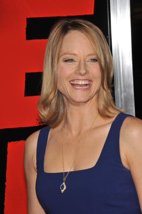 Jodie Foster Jodi vårdar royaltyfria foton