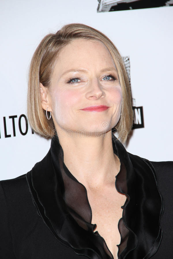 Jodie Foster, JR de Robert Downey, Robert Downey Jr., Robert Downey, JR. images libres de droits