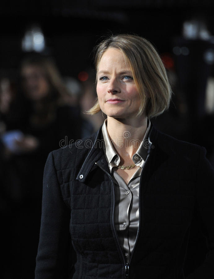 Jodie Foster, Paul Smith immagini stock