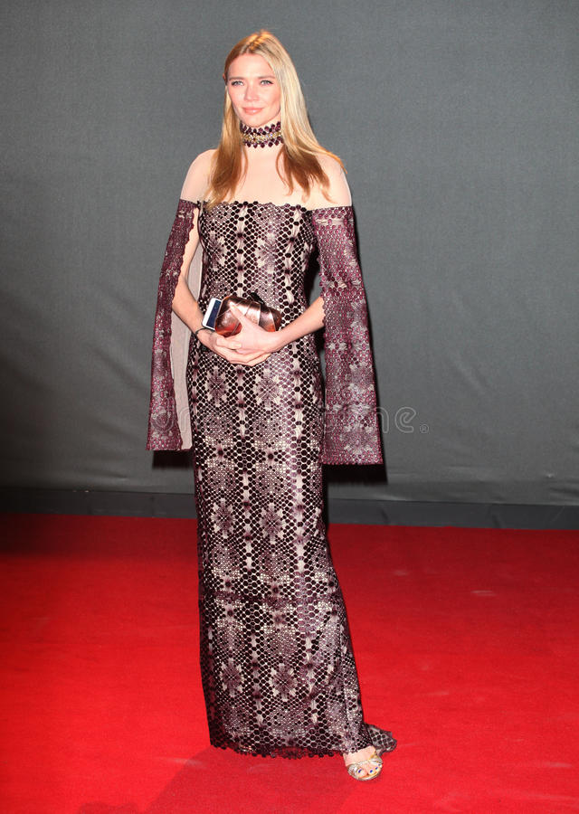 Jodie Kidd. Arriving for the 2013 British Fashion Awards, at The London Coliseum, London. 02/12/2013 Picture by: Alexandra Glen / Featureflash stock photo