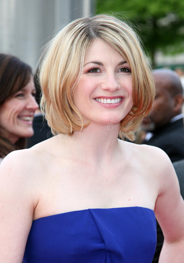 Jodie Whittaker royalty-vrije stock afbeelding