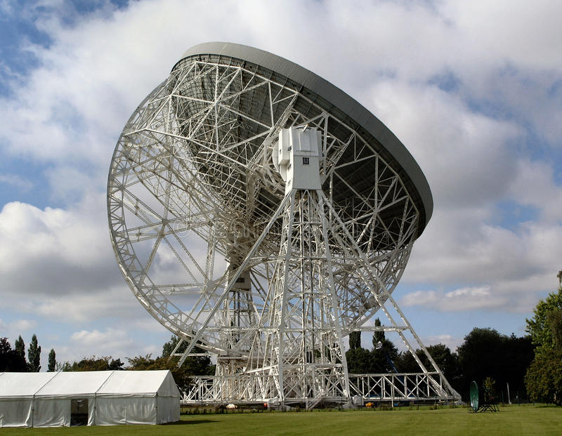 Download Jodrell Bank stock photo. Image of bank, dish, satellite - 10558230