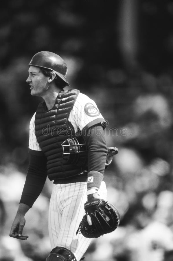 Jody Davis Chicago Cubs foto de archivo