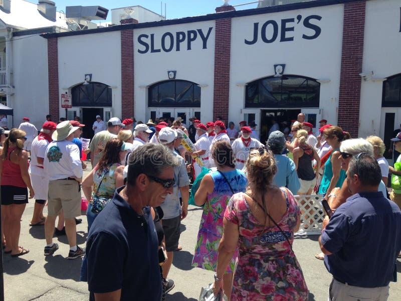 Joe descuidado en Key West imagen de archivo