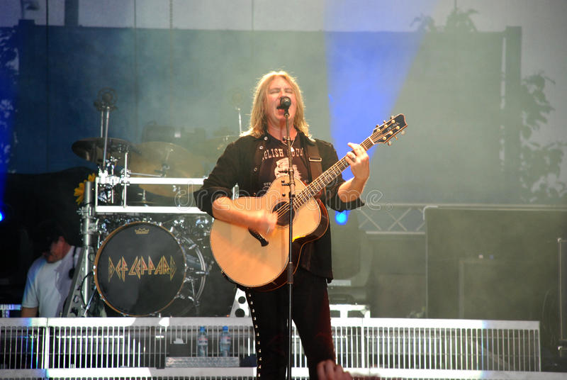 Joe Elliott, Def Leppard stockbilder