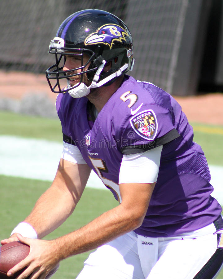 Joe Flacco royalty free stock images