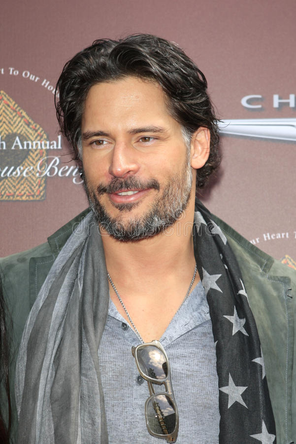 joe John manganiello varvatos zdjęcia royalty free