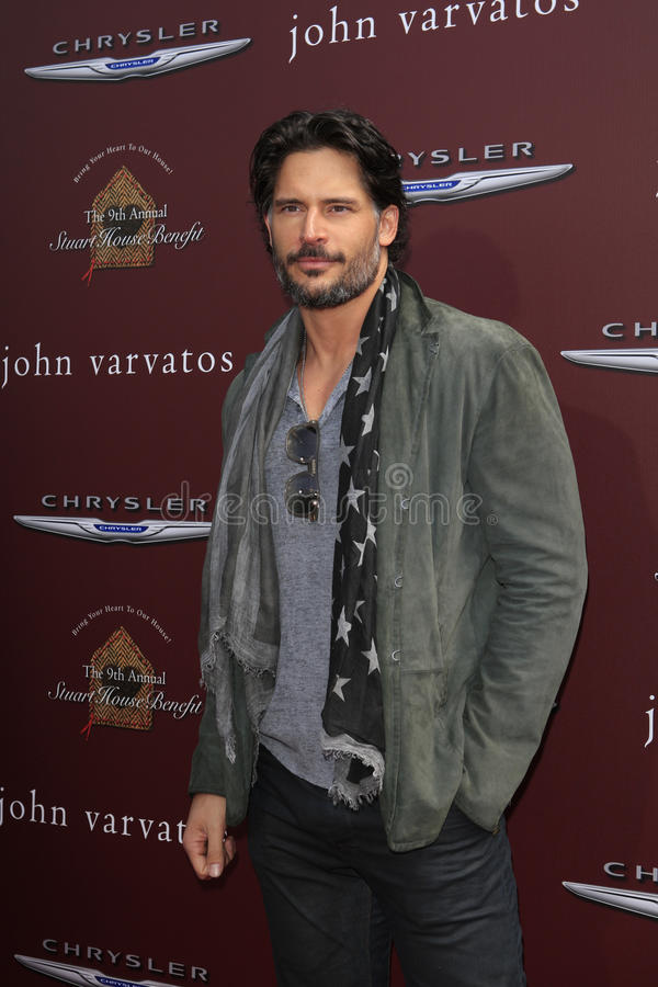 joe John manganiello varvatos obrazy royalty free
