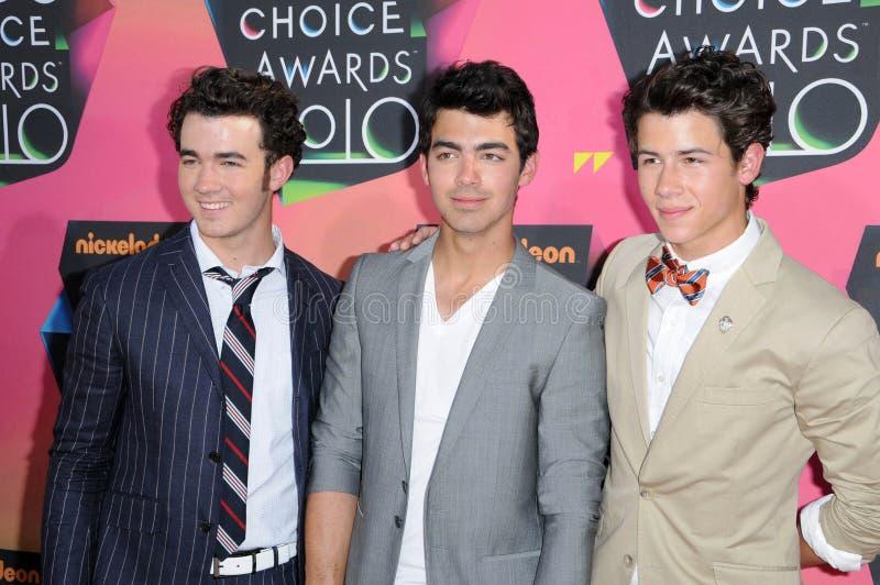 Joe Jonas, Kevin Jonas, Nick Jonas, Jona images stock