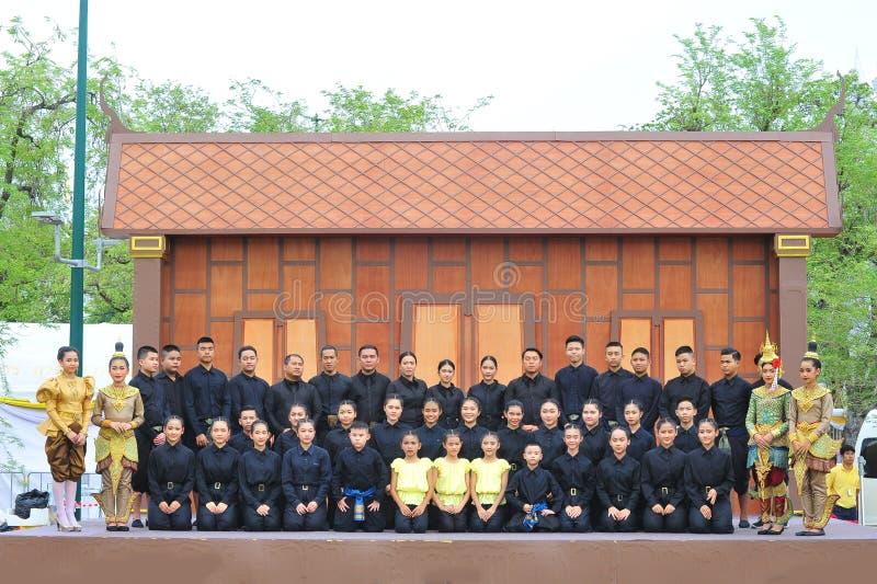 Joe Louis Traditional Thai Puppet Theatre immagini stock libere da diritti