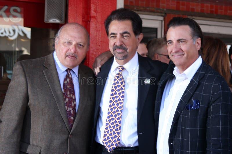 Joe Mantegna,Andy Garcia,Dennis Franz Editorial Photo