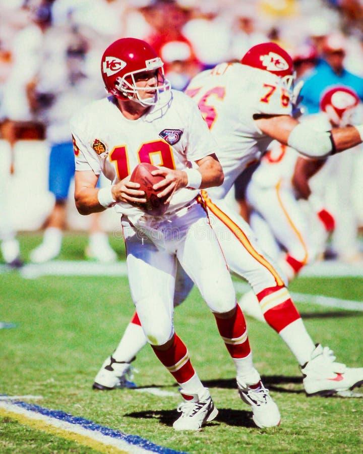 Joe Montana Kansas City Chiefs foto de stock