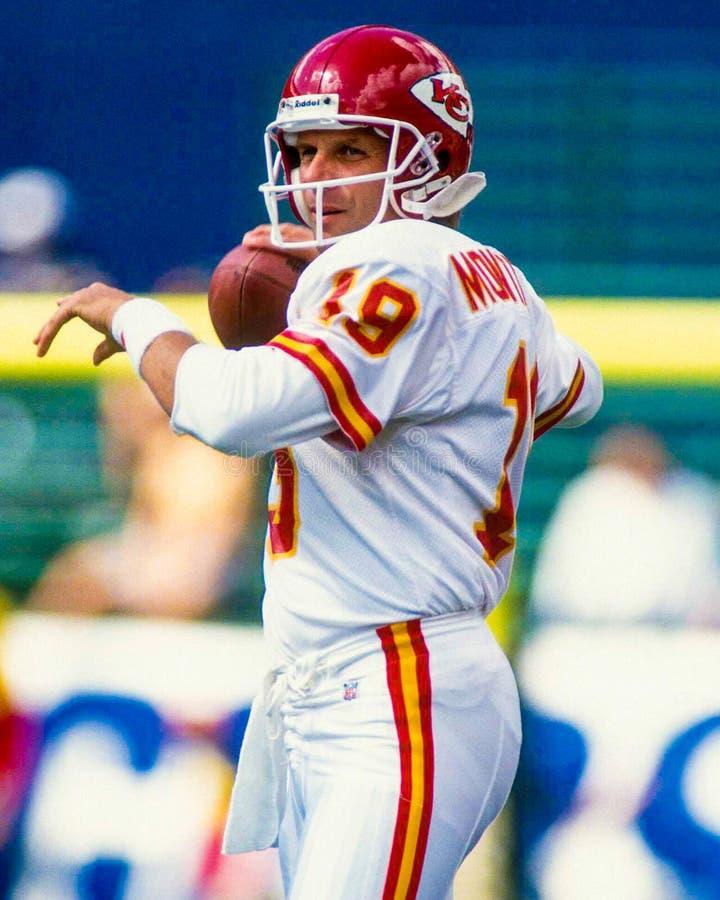 Joe Montana Kansas City Chiefs imagem de stock royalty free