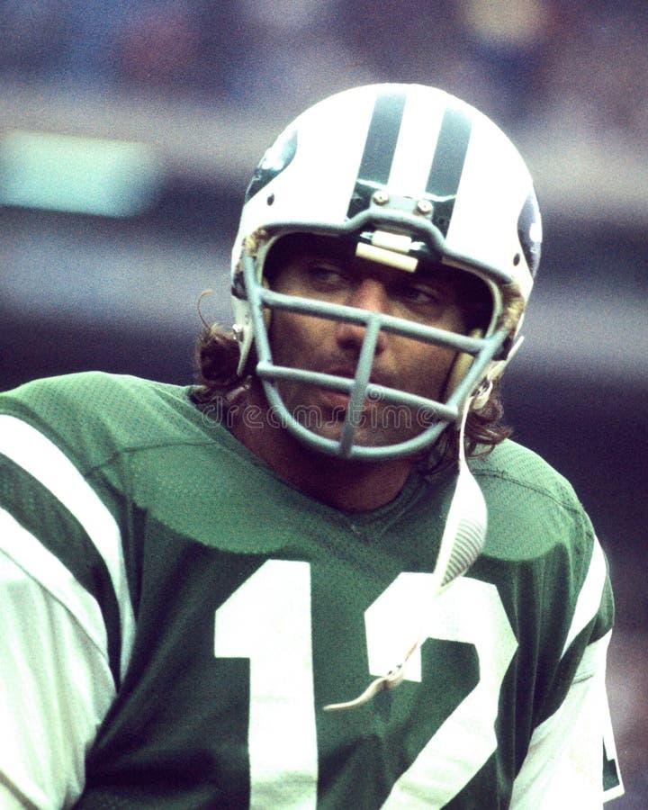 Joe Namath New York Jets fotografia de stock