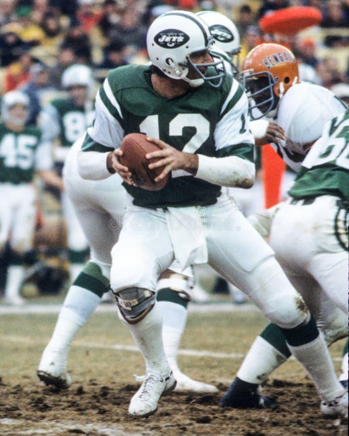 Joe Namath New York Jets foto de stock royalty free