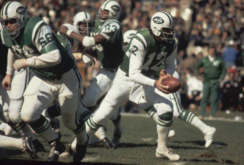 Joe Namath New York Jets fotos de stock