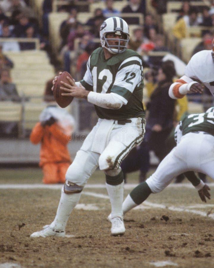 Joe Namath New York Jets foto de stock