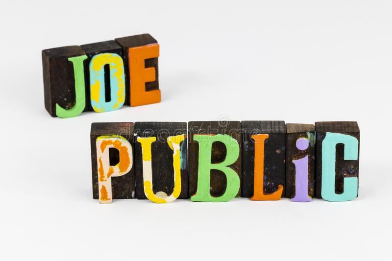 Joe public relations person average unknown people everyday normal. Joe public relations person is average guy unknown people and everyday normal.  Abstract royalty free stock photos