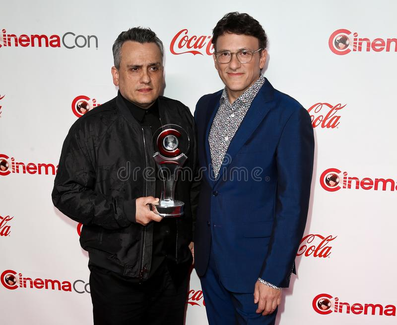 Joe Russo, Anthony Russo stock foto