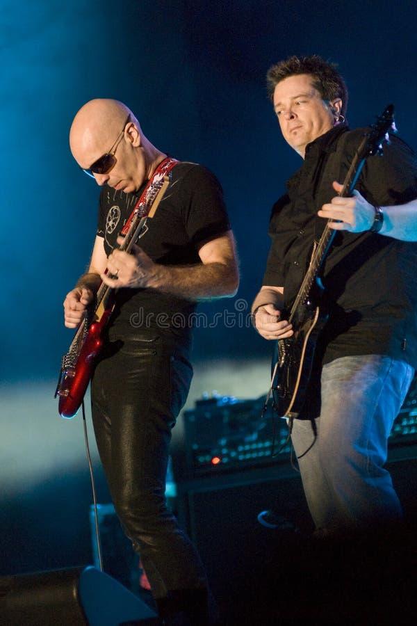 Joe Satriani in Concert royalty free stock photo